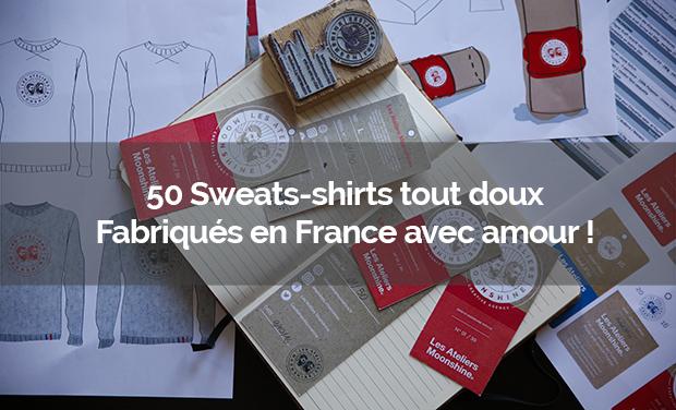 Visuel du projet Offrez-vous le plus beau des sweats fabriqués en France. Soutenez l'extrêmement doux !