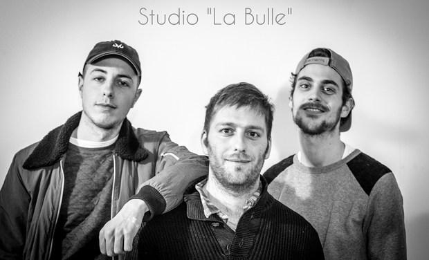 """Visuel du projet Studio  """"La Bulle"""""""