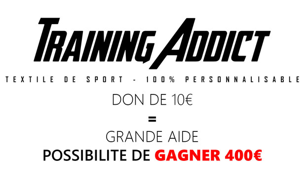 Project visual Training Addict - Textile de sport 100% personnalisable