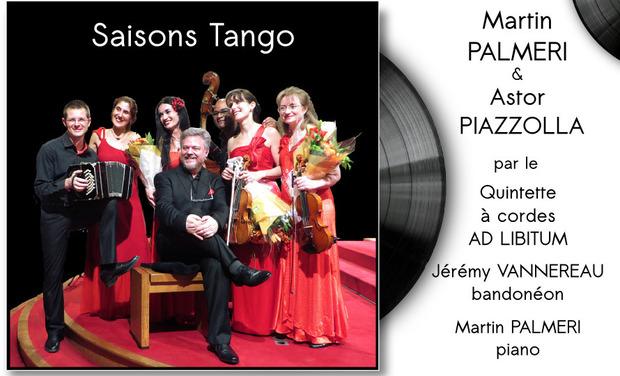 Visuel du projet Premier enregistrement des Quatre Saisons de Martin PALMERI