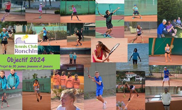 Visuel du projet Tennis Club Ronchin Objectif 2024