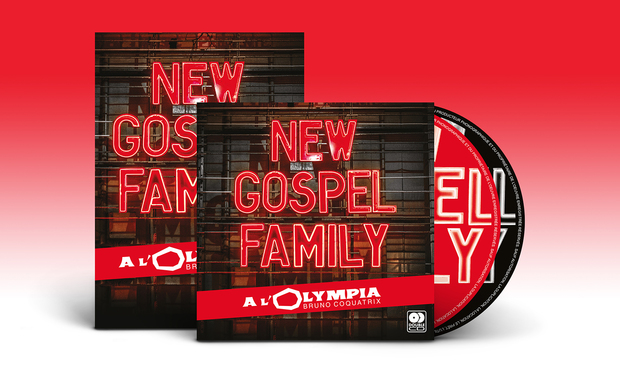 Visuel du projet DVD / Double CD de New Gospel Family à l'Olympia