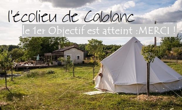Visuel du projet l'écolieu de Cablanc