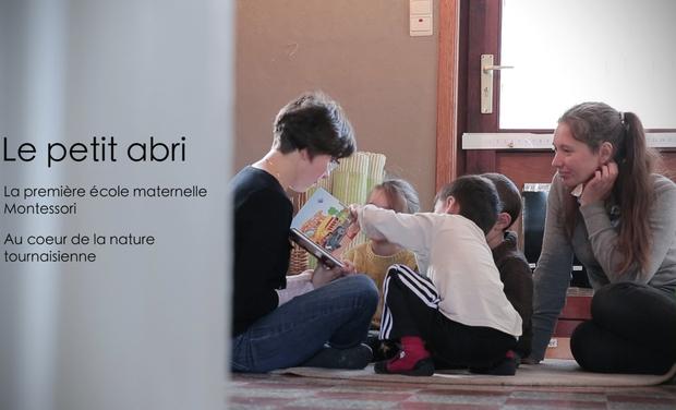 Project visual 1ère Ecole maternelle Montessori au coeur de la nature dans la région du tournaisis
