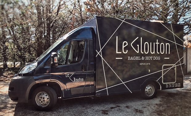 Project visual Le Glouton Food Truck