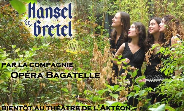 Visuel du projet Aidez à créer Hänsel et Gretel au Théâtre de l'Aktéon!