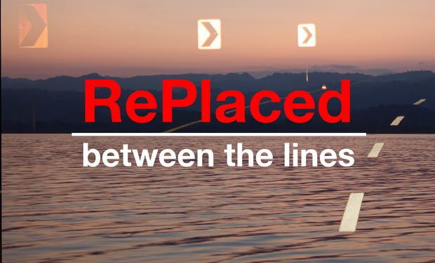 Visuel du projet RePlaced: Between the lines