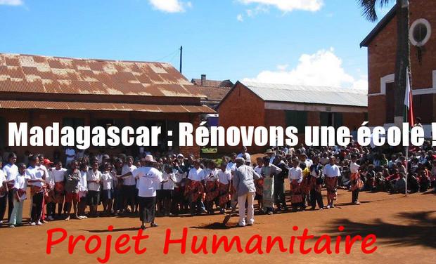 Visuel du projet Madagascar : Rénovons une école !