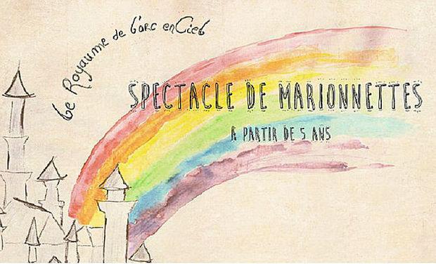 """Project visual """"LE ROYAUME DE L'ARC-EN-CIEL"""" Spectacle de marionnettes"""
