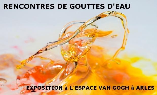 Visueel van project Rencontres de gouttes d'eau. Exposition Espace Van Gogh à Arles