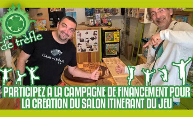 Project visual Financez un salon de jeux itinérant !