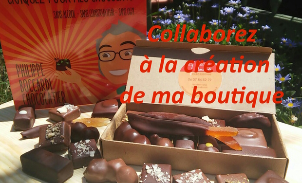 "Visueel van project La Boutique ""Les Chocolats Philippe Boccardi"""