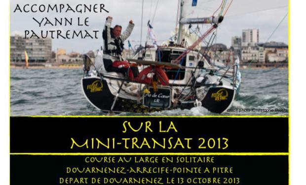 Visueel van project Mini Transat 2013 / Yann Le Pautremat - Mécénat Chirurgie Cardiaque