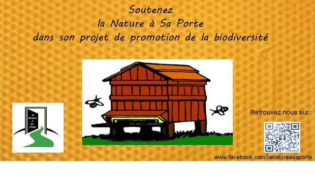 Visueel van project La Nature à Sa Porte au service de la biodiversité
