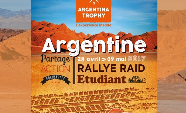 Project visual Argentina Trophy 2017 - équipage 72 Thib & Charles