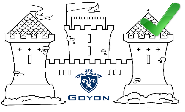 "Project visual Goyon "" l'application qui sauve les chateaux"""