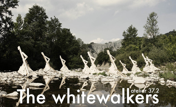 Project visual The white walkers