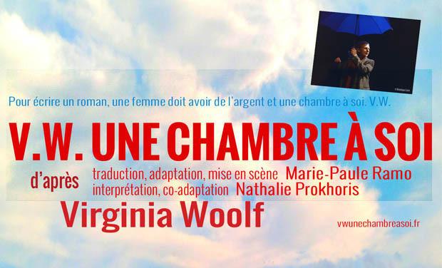 Visuel du projet V.W. Une chambre à soi - Avignon Off 2013