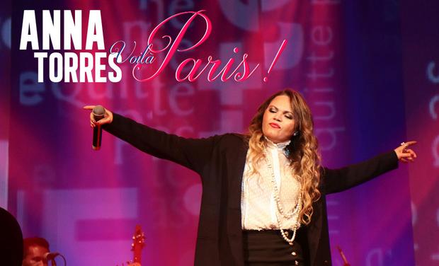 Visueel van project Anna Torres - CD Voilà Paris!