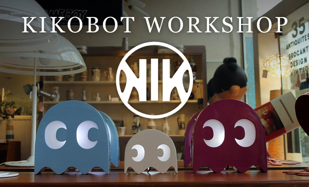 Project visual KIKOBOT WORKSHOP