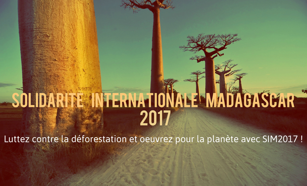 Project visual Solidarité Internationale Madagascar 2017, campus  Arts et Métiers de Bordeaux