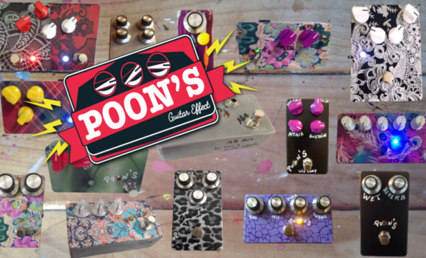 Visueel van project Poon's Guitar Effects : Des effets et du son !