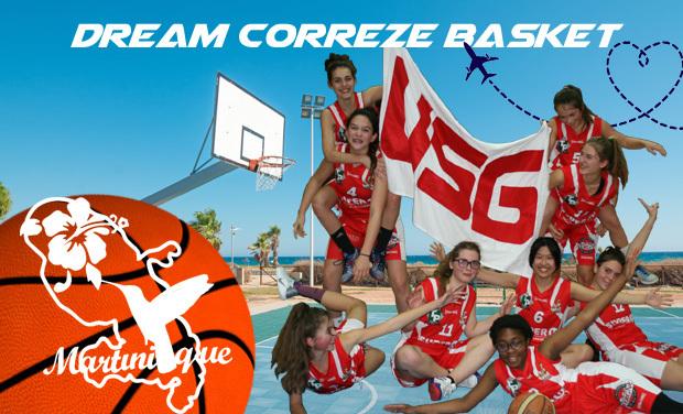 Visuel du projet Dream Correze Basket