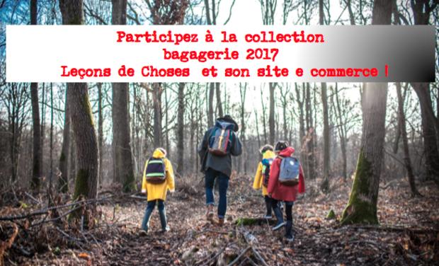Project visual Création  de la collection bagagerie pour le site e commerce