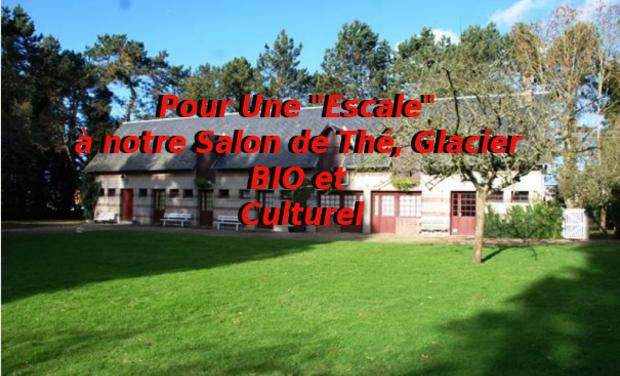 """Visueel van project Pour Une """"Escale"""" à notre Salon de Thé, Glacier BIO et Culturel"""