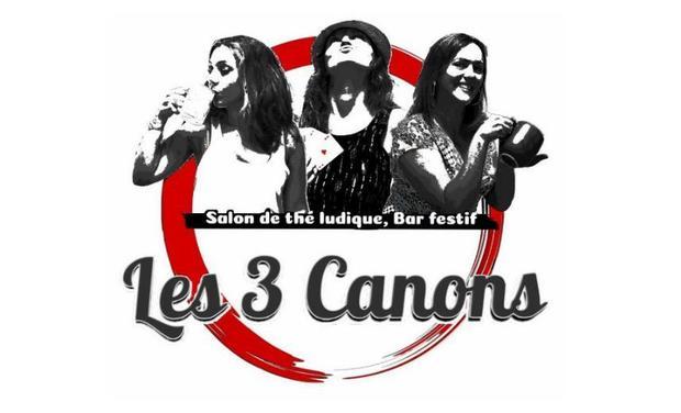 Visuel du projet Les 3 Canons : Salon de thé ludique & Bar festif