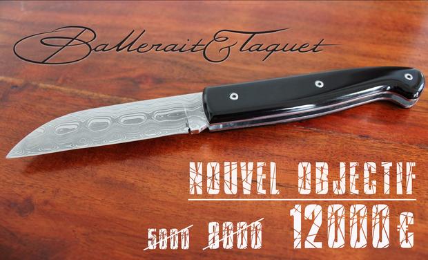 BALLERAIT & TAQUET, Couteliers créateurs à Paris