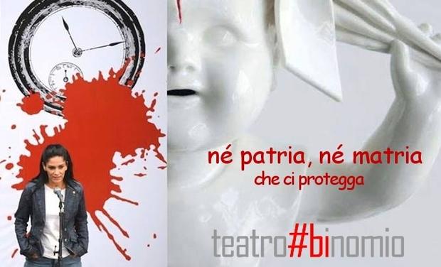 Visueel van project Né patria, né matria (che ci protegga)