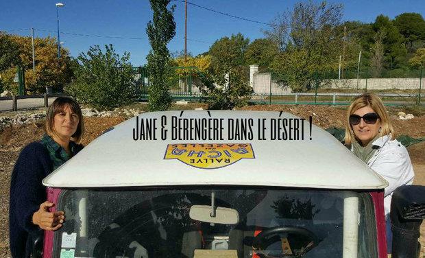 Visuel du projet Jane & Bérengère dans le désert !