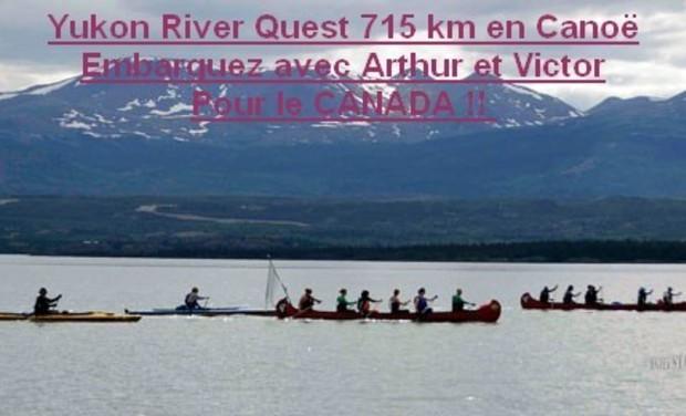 Visuel du projet Aidez-nous à financer notre course de Canoë 715 km sur le Yukon Canada
