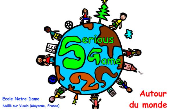 Visuel du projet Serious Game Autour du Monde