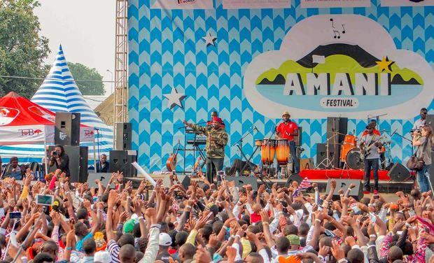 Visuel du projet Amani, un festival de musique à Goma
