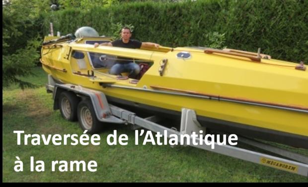 Visueel van project Traversée de l'Atlantique à la rame