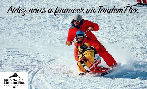 Visuel du projet TANDEM'FLEX, le ski à la portée de tous