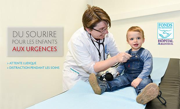 Visuel du projet Couleurs et distraction  aux urgences d'Argenteuil