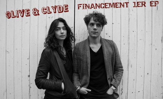 Visueel van project 1er EP d'Olive&Clyde !