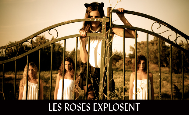 Project visual Les Roses explosent