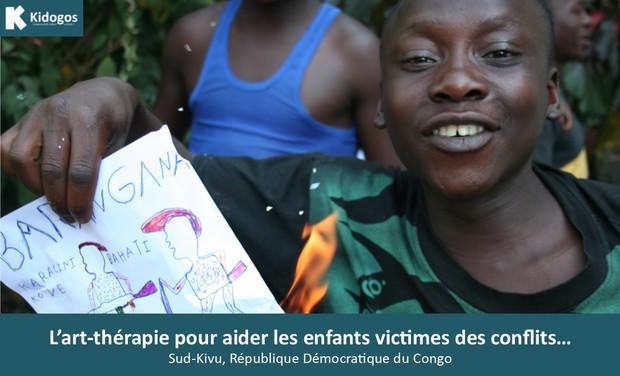 Visuel du projet Art-thérapie et enfants victimes des conflits...