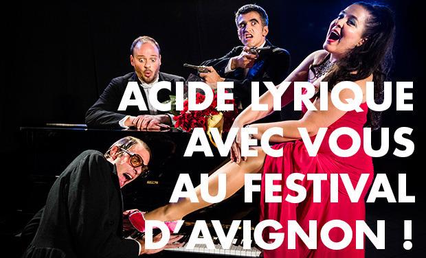 Visueel van project Acide Lyrique avec vous au Festival d'Avignon 2013 !