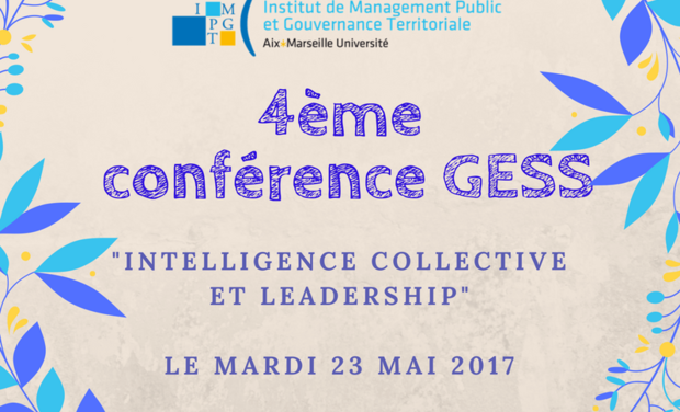 "Project visual Conférence ""Intelligence collective et Leadership"", Master GESS"