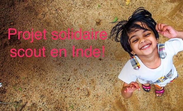 Visuel du projet En route pour l'Inde - Projet solidaire scout