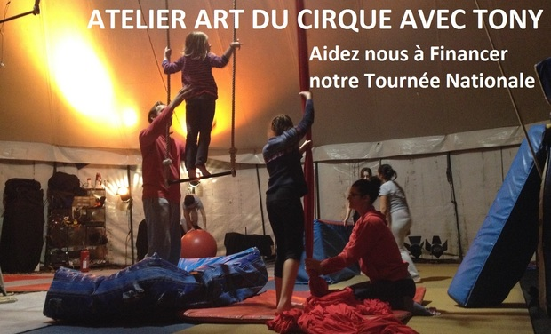 Project visual Atelier découverte art du cirque avec TONY partout en France
