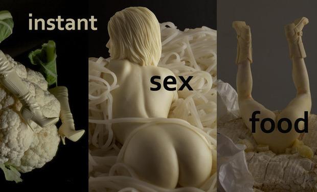 Visuel du projet Instant SEX Food (expo photo)