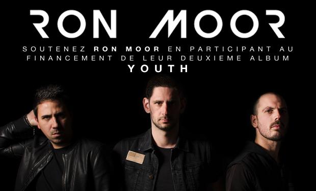 """Visuel du projet Deuxième album de Ron Moor """"YOUTH"""""""