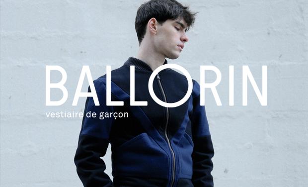 BALLORIN - Vestiaire de garçon conçu en France