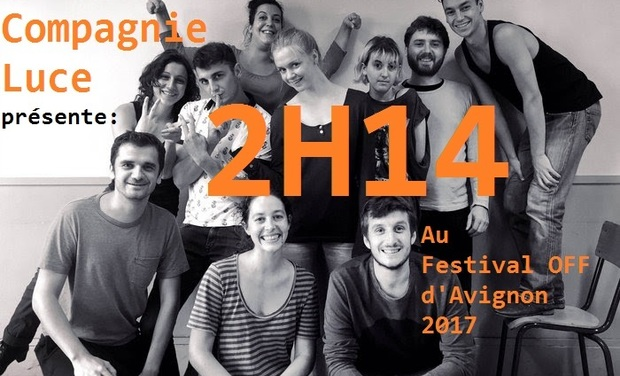 Visuel du projet 2H14 au Festival OFF d'AVIGNON
